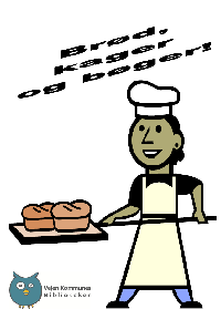Brød, kager og bogliste