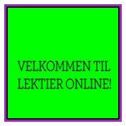 Lektier online
