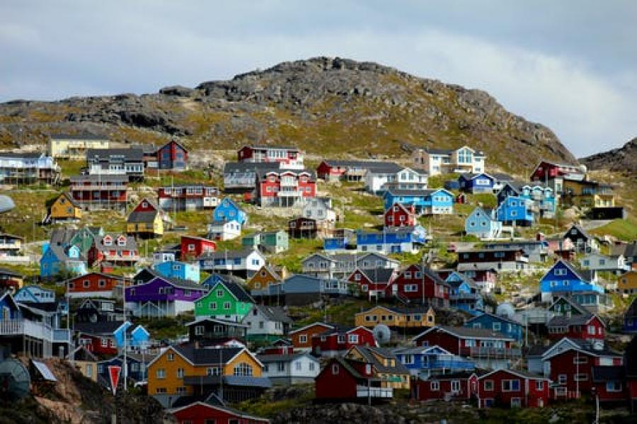 By på Grønland